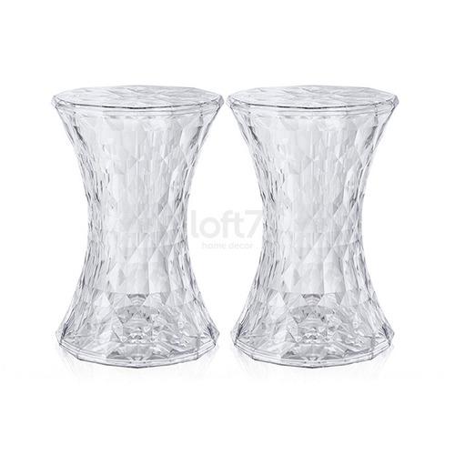 2 x banquetas stone porto alegre - design - incolor