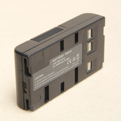 2 x batería pack para bn-v11u bn-v12u v25u bn-v18u jvc gr-sx