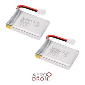 2 X Baterías Lipo 3.7v 850mah 25c 1s