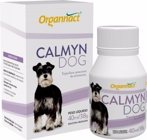 2 x calmyn dog 120 ml organnact  120ml pet shop store