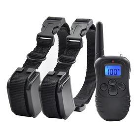 2 X Collar De Entrenamiento Perros Vibración Eléctrico Sonid
