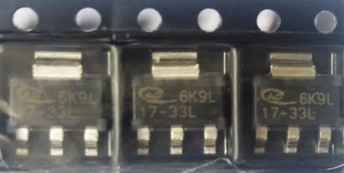 2 x diodo smd ap1117e33g-13 ap1117e33g 3.3v