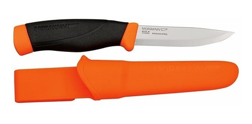 2 x facas mora companion f laranja - aço inox - original