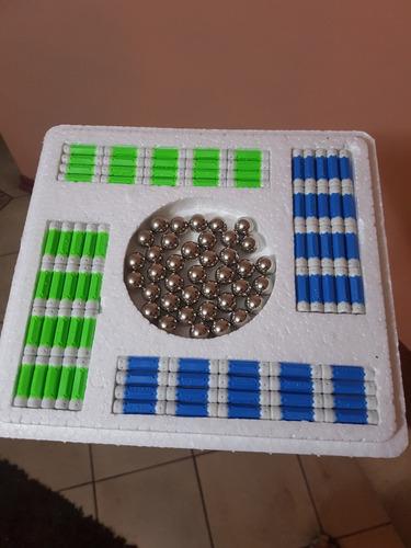 2 x juego imanes construcción didáctico 118, magnetic + envi