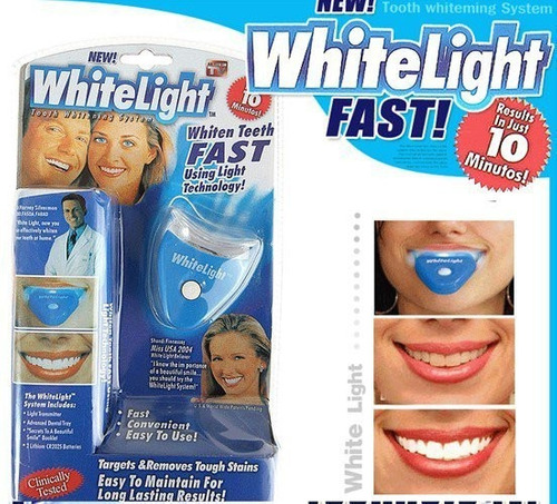 2 x kit blanqueador dientes white light dental / promoferta