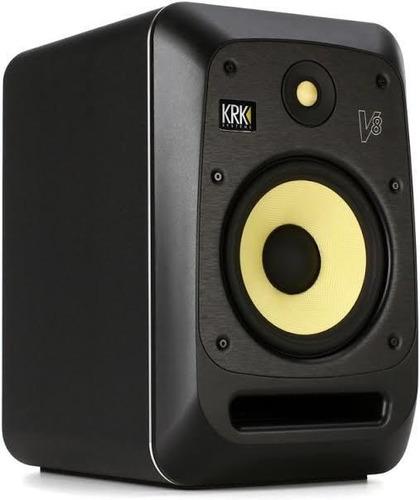 2 x krk v8 s4 studio monitor v-series active powered speaker