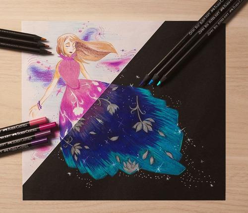 2 x lapis de cor ecolapis faber castell 50 cores supersoft