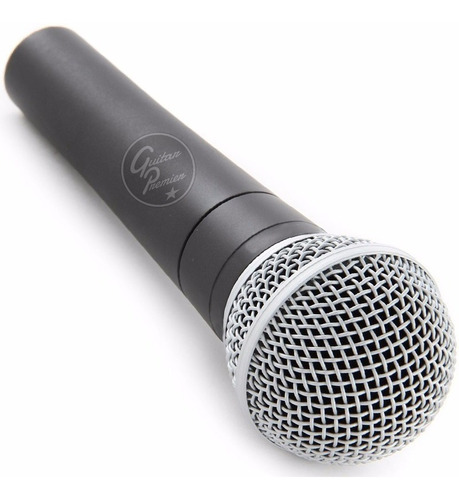 2 x microfonos sn58 modelo sm58 pies pipetas cables combo