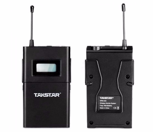 2 x monitor-eo personal inalambrico inear wpm-200 (dos kits)