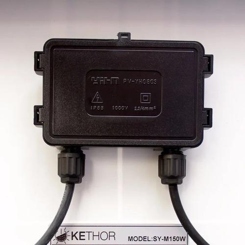 2 x panel solar fotovoltaico 150watts kethor alta eficiencia