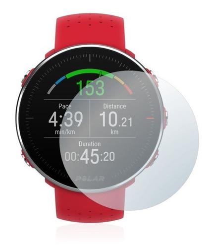2 x peliculas protetora relógio smartwatch polar vantage m