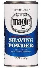 2 x polvo depilatorio magic shaving powder