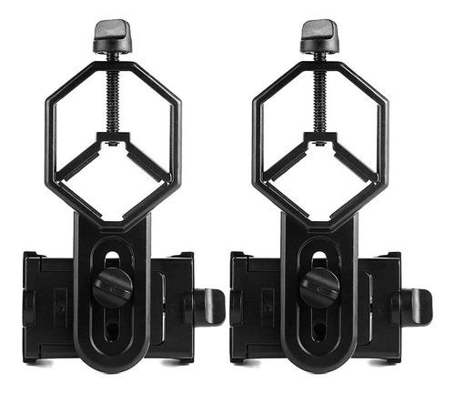 2 x telescopio celular monte adaptador para microscopio mono