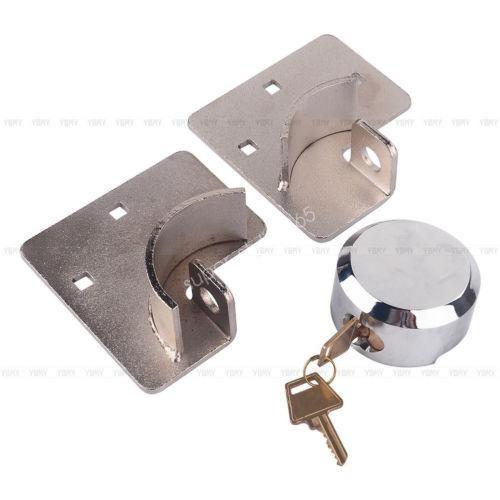 2 x tornillo van garage cubierto puerta seguridad canda-9497