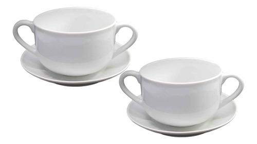 2 xícara consume grande 2 cabo 750 ml com pires  ref 89