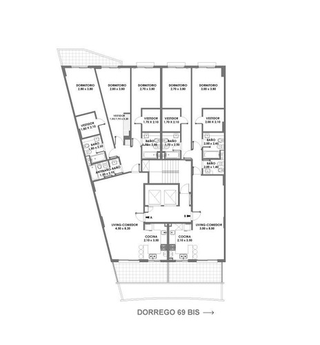 2 y 3 dormitorios en la zona rio