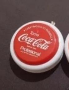 2 yo-yos antiguos coca y sprite originales