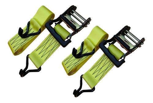 2 zunchos cintas de amarre con crique traka traca cuotas
