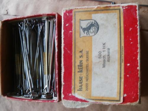 20 agujas para máquina de tejer knittax nuevas