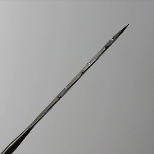 20 agujas triangulares gruesas #36 felting fieltro agujado