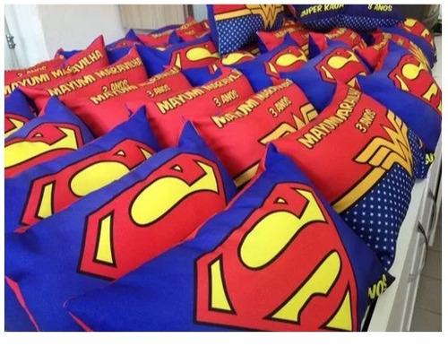 20 almofadas personalizadas 20x30 cm (frente / verso)