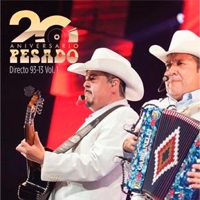 20 aniversario directo 93 -13 vol 1 pesado cd + dvd