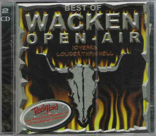 20% best of wacken open air - various 99 heavy 2cd(germany)+