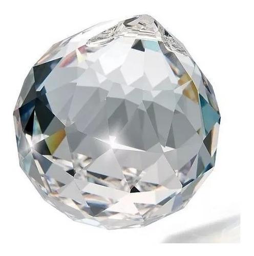 20 bolas esferas multifacetada 40mm cristal k9 lustres