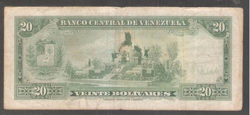 20 bolívares de 1972  u8