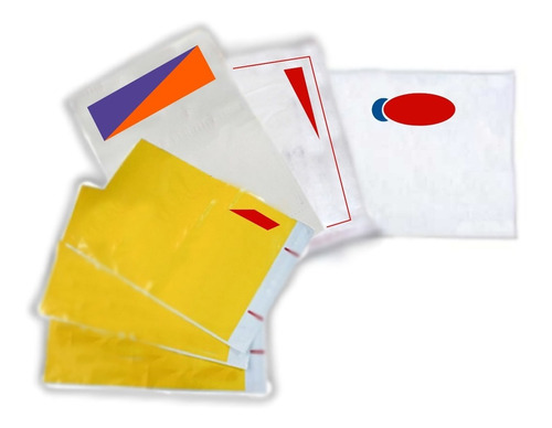 20 bolsas plástico mensajerías enviamos x dhl fedex estafeta