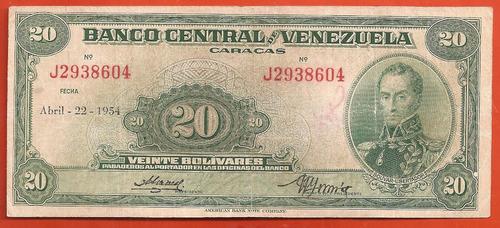 20 bs de 1954 j-7, super dificil de ver...