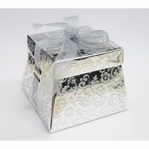 7452e8366 20 Caixa Bem Casado Dourada Prata Com Passa Fita Casamento - R$ 53,40 em  Mercado Livre
