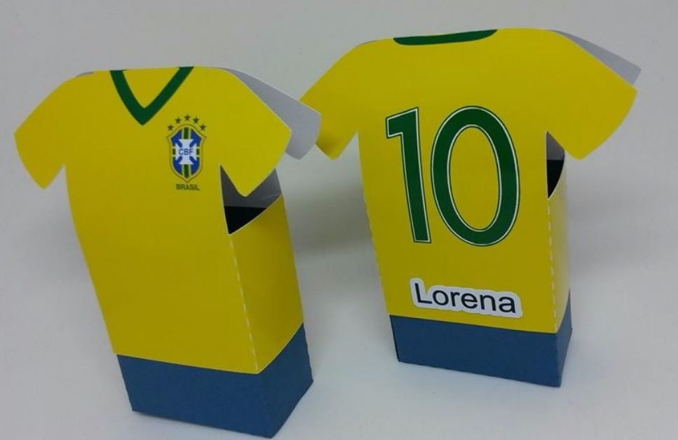 45c8651fe6 20 Caixa Camisa De Futebol - R  70