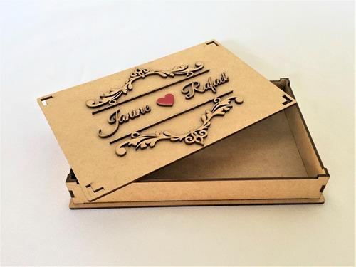 20 caixas convite lembrança padrinhos de casamento arabesco