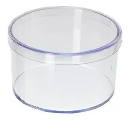 20 caixinhas de acrílico redonda 6x4 para lembrancinha