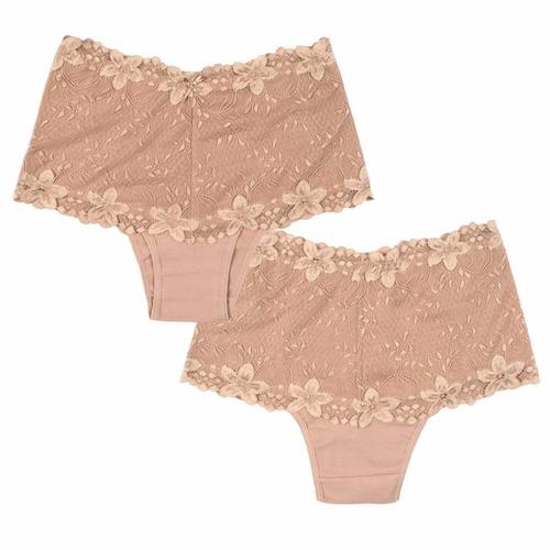 20 calcinha cinta cintura alta renda luxo lingerie atacado