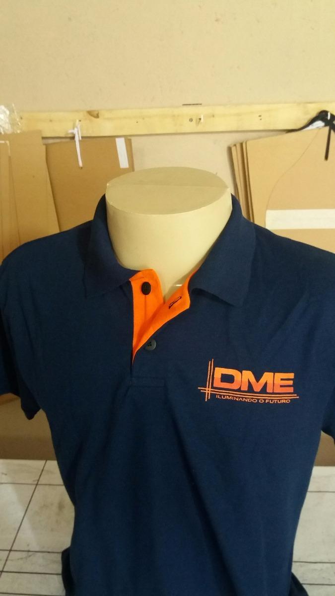 20 camisas gola polo uniformes personalizadas logo silk. Carregando zoom. 410aa9f04149f