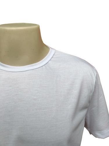 20 camiseta lisa blusa poliéster sublimação brindes atacado