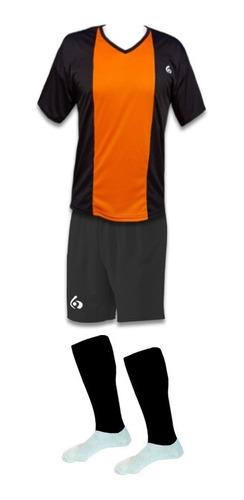 20 camisetas numeradas futbol : camisetas + short + medias