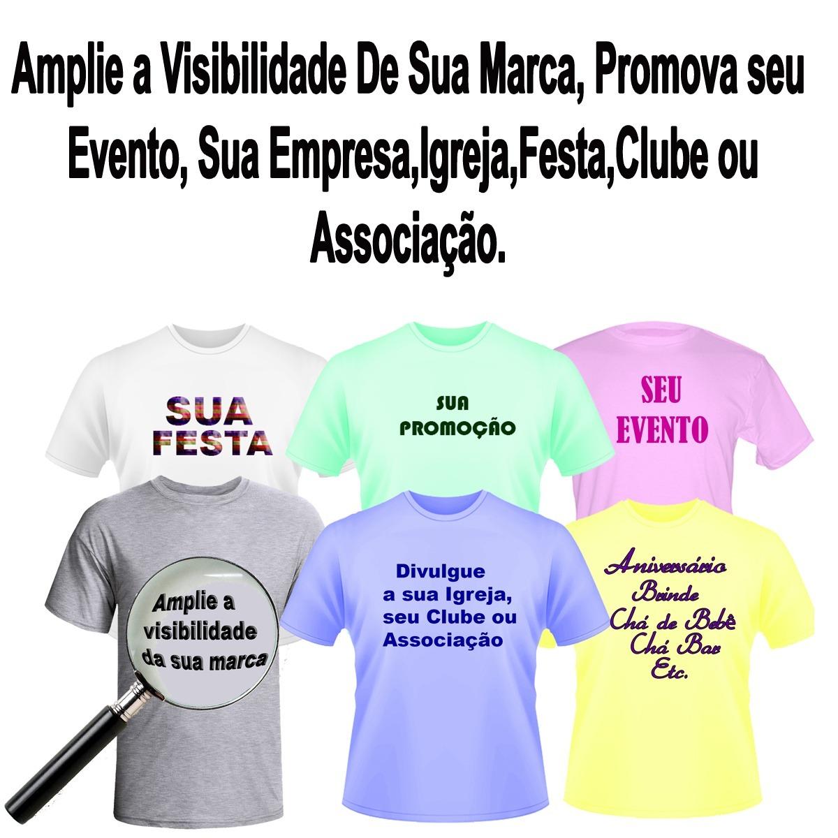 9ed2ed2955 20 camisetas personalizadas com seu logo - uniformes-festa. Carregando zoom.