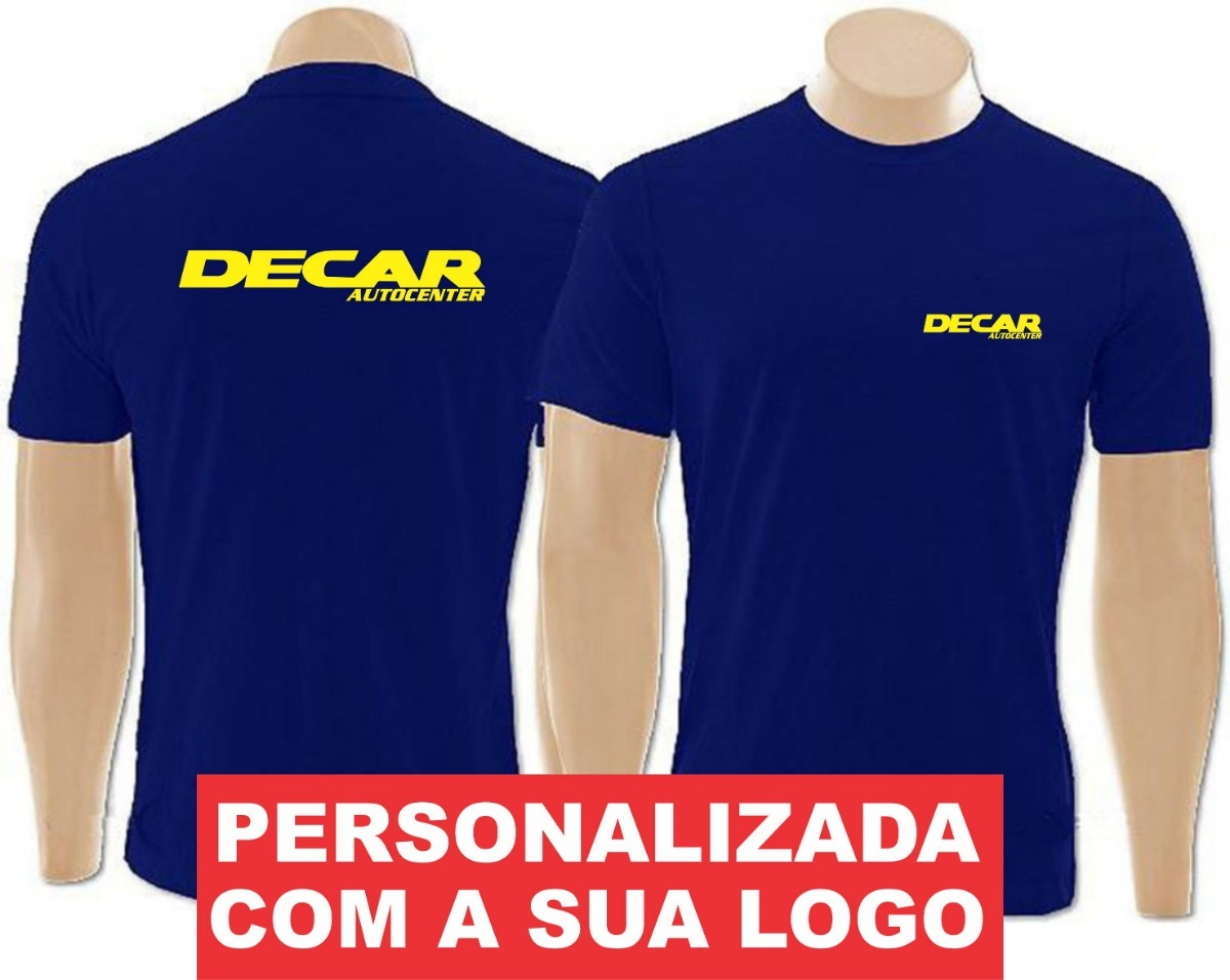 73b4c24e7 20 Camisetas Personalizadas Malha Fria Pv Empresa Escola - R  550