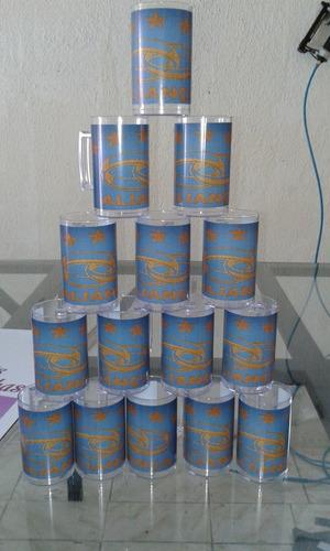 20 canecas de acrilico personalizada