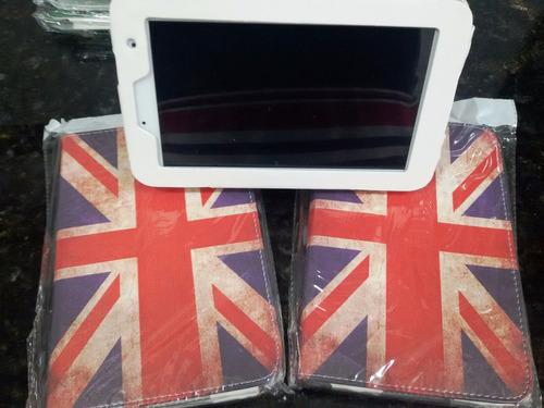 20 capas tablet universal estampadas luxo atacado