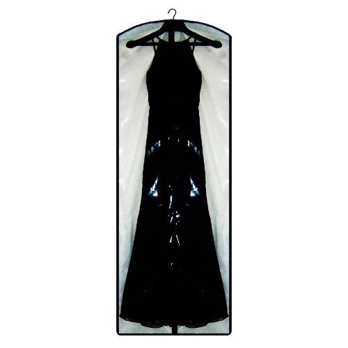 20 capas vestido de festa frente transparente - com lateral