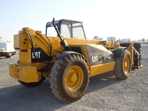 20) cargador / montacargas telescopico cat th83 4x4x4, 1999