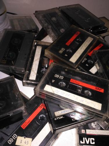 20 casettes del puma en caja libro y 20 variados mercadopago