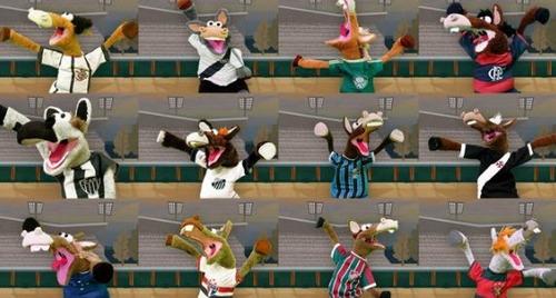 20 cavalinhos do fantástico do flamengo mengao urubu zico.