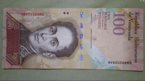20 cedula 100 bolivares venezuela