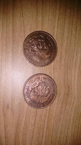 20 centavos estados unidos mexicano relíquia 1957 e 1964