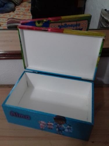 20 cofres cajas  premium  cumples empresa logo personalizado